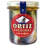 Сардини Conservas Ortiz в олив.олії з/б 190г