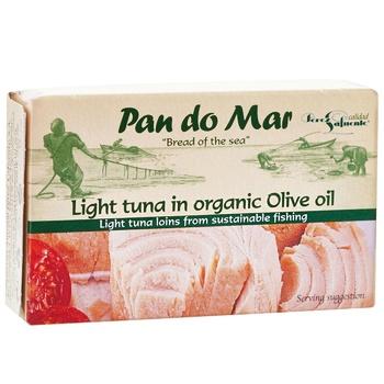 Тунець Pan do Mar в олив.ол.смугаст.з/б 120г