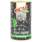 Oscar Pitted Olives 350g