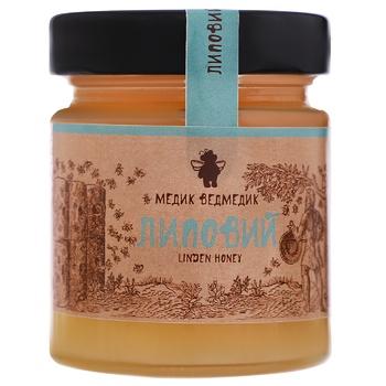 Honey Medyk vedmedyk linden 250g glass jar - buy, prices for CityMarket - photo 1