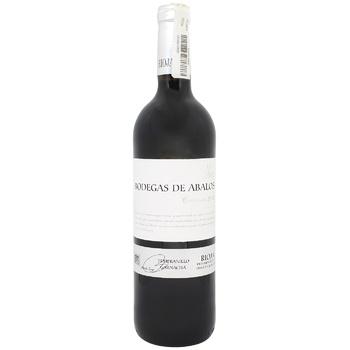Вино Bodegas de Abalos Rioja Crianza 2014 червоне сухе 14% 0,75л - купити, ціни на CітіМаркет - фото 1