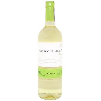 Bodegas de Abalos Rioja White Dry Wine 12,5% 0,75l - buy, prices for CityMarket - photo 1