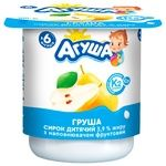 Agusha For Babies From 6 Months With Pear Cottage Cheese 3.9% 100g - buy, prices for Furshet - image 1