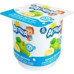 Agusha Banana-Apple Flavored Cottage Cheese for Babies from 8 Months 3,9% 100g