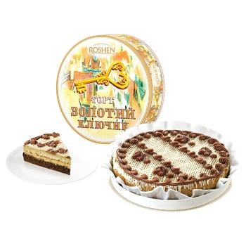 Торт Roshen Золотой ключик 450г