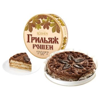 Торт Roshen Грильяжный 850г