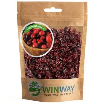Журавлина Winway сушена 100г - купити, ціни на CітіМаркет - фото 1