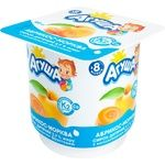 Agusha Apricot-Carrot Flavored Cottage Cheese for Babies from 8 Months 3,9% 100g