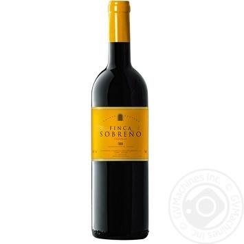 Finca Sobreno Crianza Wine red dry 14% 0.75l - buy, prices for CityMarket - photo 1