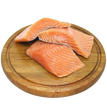 Філе лосося слабосолоне - купити, ціни на CітіМаркет - фото 1