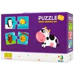 DoDo Duo What Animals Eat Puzzles 24pieces