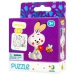 DoDo Bunny 2in1 Puzzle 16elements