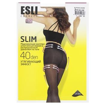 Колготки Esli женские E Slim 40den New р.2 Melone - купить, цены на СитиМаркет - фото 1