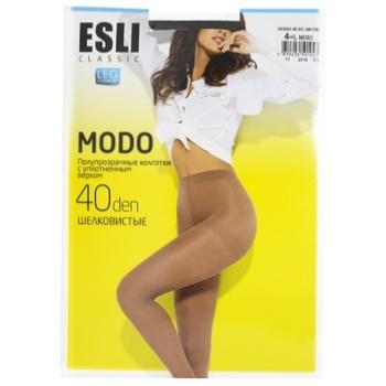 Esli Women's Tights E Modo 40den New s.4 Nero - buy, prices for CityMarket - photo 1