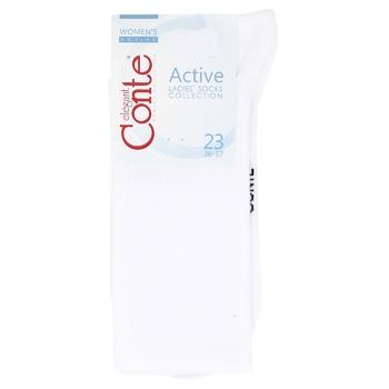 Носки женские Conte Active 20С-20СП р.23 белый