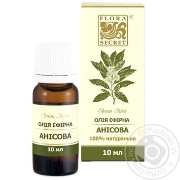 Олія ефірна Flora Secret анісова 10мл - купить, цены на Novus - фото 3