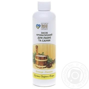 Засіб ароматичний для лазні та сауни Ялиця-Лимон Flora Secret - купить, цены на Novus - фото 1