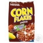 Готовий сухий сніданок NESTLÉ® CHOCO CORN FLAKES з какао без глютену 450г - купити, ціни на Метро - фото 1
