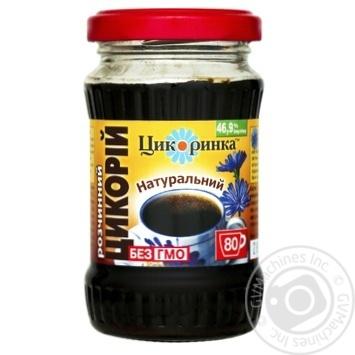 Напиток Цикоринка Цикорий натуральный растворимый 200г - купить, цены на Novus - фото 1