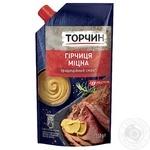 Гірчиця ТОРЧИН® Міцна 130г - купити, ціни на Novus - фото 1