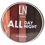 Набір тіней для повік LN Professional All Day All Night 03