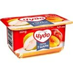 Cottage cheese Chudo pear 4.2% 100g Ukraine