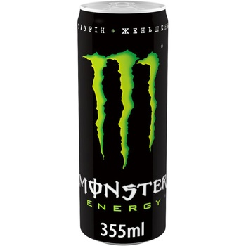 Monster Energy Non-Alcoholic Strong Carbonated Energy Drink 355ml - buy, prices for MegaMarket - image 1