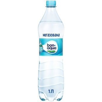 Bonaqua Natural Drinking Non-Carbonated Water 1l - buy, prices for Furshet - image 1