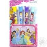 Детский набор блесков для губ Markwins Disney Princess с футляром 1599022E