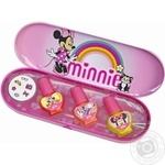 Markwins Minnie 1599039E In Metalic Box Baby's Nail Laquer Set