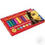 Набір фарб Maxi у формі олівця 12 кольори