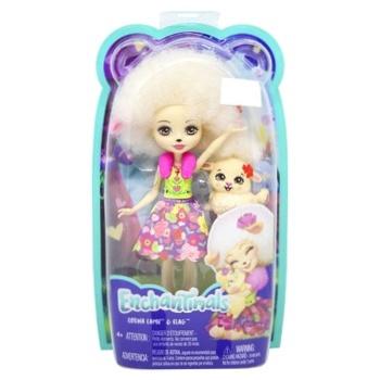 Игрушка Enchantimals кукла ягненка Лорна