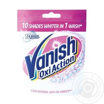Средство Vanish Oxi Action Кристальная Белизна для удаления пятен 300г - купить, цены на МегаМаркет - фото 1