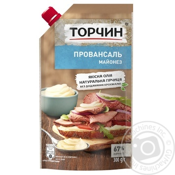 Torchin Provansal mayonnaise 67% 300g - buy, prices for Novus - image 1