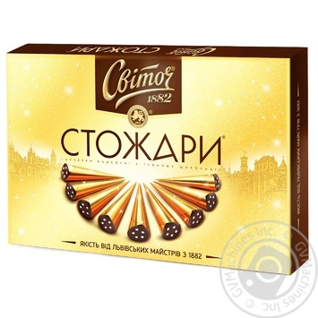 SVOTICH® Stozhary Classic  boxed chocolates 232g - buy, prices for Auchan - image 1