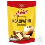 SVITOCH® Artek Quadratini Cappuccino taste wafers 133g