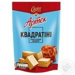 SVOTICH® Artek Quadratini wafers with solted caramel taste 133g