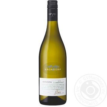 Вино Krondorf Barossa Chardonnay белое сухое 13.5% 0,75л