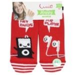 Conte Elegant Happy Red Women's Socks Size 23-25