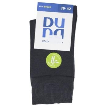 Шкарпетки Duna чоловічі 2169 р.25-27 темно-сірий