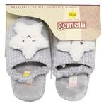 Gemelli Children's Home Slippers Star s.23-32 assortment