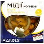 Мідії Banga в олії  з лимоном 120г