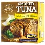 Trata With Lemon And Oregano Smoked Tuna 160g