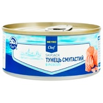 METRO Chef Canned In Own Juce Tuna Fish 160g