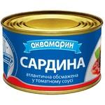 Сардины Аквамарин в томатном соусе 230г