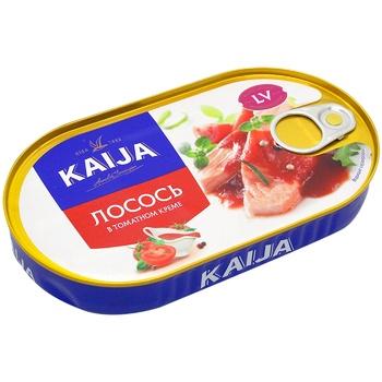 Лосось філе Кайджа в томатному кремі 170г - купити, ціни на Метро - фото 1