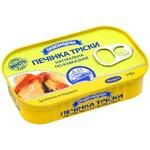 Печень трески по-кавказски Аквамарин 115г