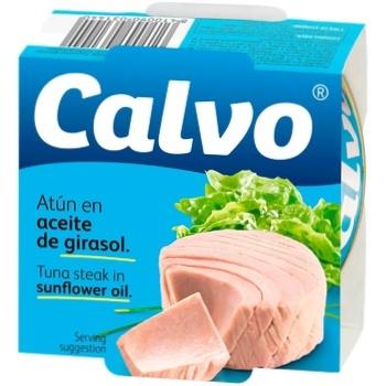 Calvo in oil fish tuna 160g - buy, prices for CityMarket - photo 1