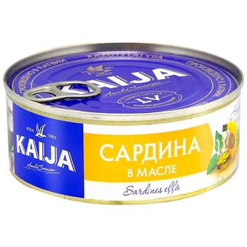 Kaija in oil fish sardines 240g - buy, prices for CityMarket - photo 1