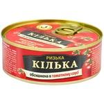 Килька Бривайс Вильнис Рижская обжаренная в томатном соусе 240г